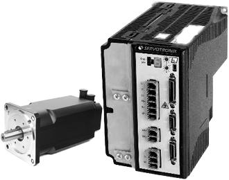 AC-Servomotor und Endstufe