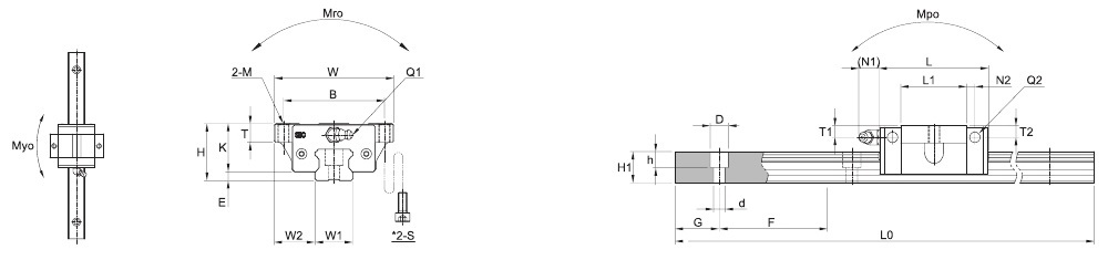 SBI FV – Technische Zeichnung